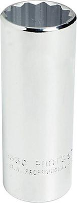Proto® Torqueplus™ Deep Length Ball Locking Box Tip Hand Socket, 1/2 in Square Drive, 1 1/8 in