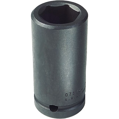 Proto® Torqueplus™ Deep Length Pin Locking Box Tip Impact Socket, 3/4 in Square Drive, 1 5/8 in