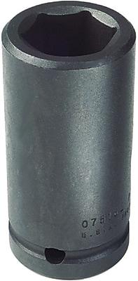 Proto® Torqueplus™ Deep Length Pin Locking Box Tip Impact Socket, 3/4 in Square Drive, 1 5/8 in