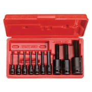 Proto® 7 Pieces Pin Locking Hex Bit Impact Socket Set, 3/8 in and 1/2 in Square Drive
