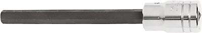 Proto® Ball Locking Extra Long Socket Hex Bit, 1/2 in Square Drive, 5/16 in x 4 1/8 in