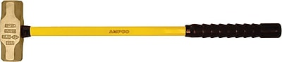 Ampco® Safety Tools Double Face Sledge Hammer, 2 3/4-inch Face Size, 33-inch Length, 15 lbs.