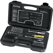 Blackhawk® 21 Pieces 6 Point Standard Socket Set, 1/4 in Drive