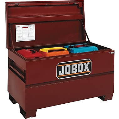 Jobox Site-Vault™ Heavy Duty On-Site Chest, 27 3/8 in (H) x 60 in (W) x 24 in (D)
