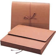 "Smead Wallet, 3.5"" Expansion, Letter Size, Brown (71053)"