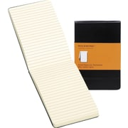 "Moleskine Reporter Notebook, Pocket, Ruled, Black, Hard Cover, 3-1/2"" x 5-1/2"""