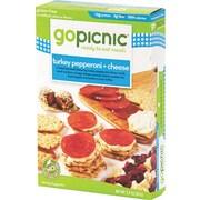 GoPicnic® Ready-To-Eat-Meals, Hummus + Crackers, 4.4 oz. Packs, 6 Packs/Box