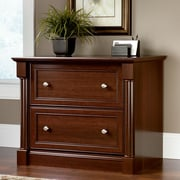 Sauder Palladia Collection Lateral File, Select Cherry