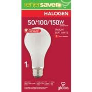 Globe – Ampoules A21 à halogène, trois intensités lumineuses, 50 W/100 W/150 W, blanc doux