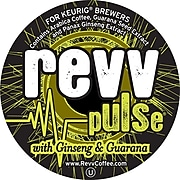 Keurig® K-Cup® Revv Pulse with Ginseng and Guarana Coffee, Regular, 22 Pack (4063)