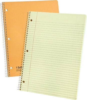 Ampad® Evidence® 1-Subject Notebook, College Ruled, 8-1/2