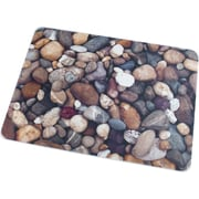 "Floortex Pebbles Polycarbonate Chairmat, Rectangular, 36""x48"""