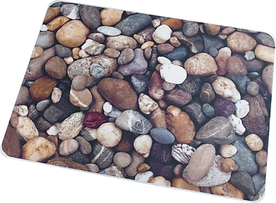 Floortex Pebbles 36''x48'' Polycarbonate Chair Mat for Hard Floor, Rectangular (229220ECPB)