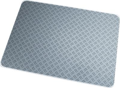 Floortex Ripple 48''x36'' Polycarbonate Chair Mat for Hard Floor, Rectangular (229220ECRI)