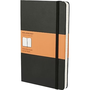 Moleskine Hard Notebook, Large Ruled, 5