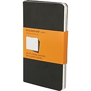 "Moleskine Cahier Pocket Ruled Journals, 3/Pack, 3-1/2"" x 5-1/2"""