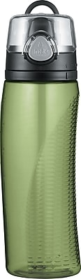 Intak by Thermos Hydration Bottle, Green, 24 oz