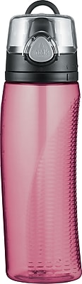 Intak by Thermos Hydration Bottle with Meter, Pink, 24oz