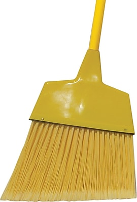 O'Dell® Angled Broom, Yellow, 11.5