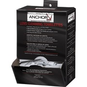 Anchor Brand® Lens Cleaning Towelette, 8 in (L) x 5 in (W)/Sheet