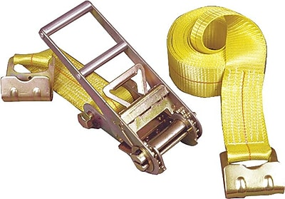 Keeper® Ratchet Tie-Down Strap, Flat Hook Style, 27 Feet (L) x 3 in (W), 5000 lbs.