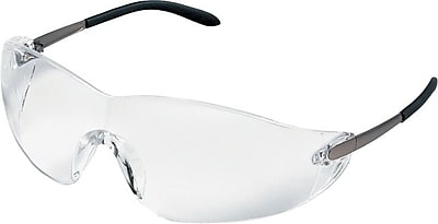 MCR Safety® ANSI Z87.1 Blackjack® Protective Glasses, Gray