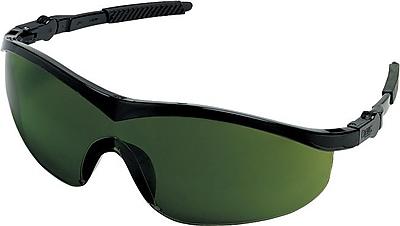 MCR Safety® ANSI Z87.1 Storm® Safety Glasses, Green, 3.0 Shade