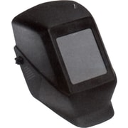 Shadow® Series W10 Passive Welding Helmet, 4 1/2 in (W) x 5 1/4 in (L) Window, #10 Shade, Black