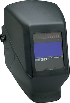 Jackson® EQC® NexGen® Series W60 Welding Helmet, 2 3/8 in (W) x 3 3/4 in (L) Window, #9 - 13 Shade, Black