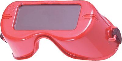 Jackson® V100 Cutting Welding Goggles, 5.0 Shade, 50 mm Hardened Glass Lens