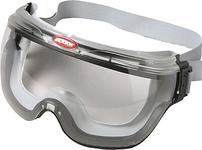 Revolution™ V80 Anti-Fog Safety Goggles, Clear/Black, Polycarbonate Lens