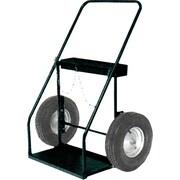 Harper™ Series 300 Lock Top Tool Box Welding Cylinder Truck, 9 1/4 in Oxygen, 13 1/2 in Acetylene