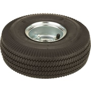 Harper™ 5/8 in Ball Bearing Pneumatic Truck Wheel, 10 in (OD) x 3 1/2 in (W)