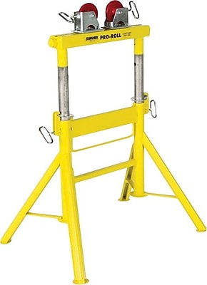 Sumner® Pro Roll™ Adjustable Height Roller Stand, 29-43 in (H), 1/2-36 in Pipe Diameter, 2000 lbs.