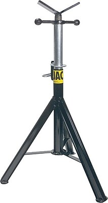 Sumner® Pro Jack® ST-871 Professional Hi Jack Stand, Vee Head, 28-49 in (H), 1/8-36 in Pipe Diameter