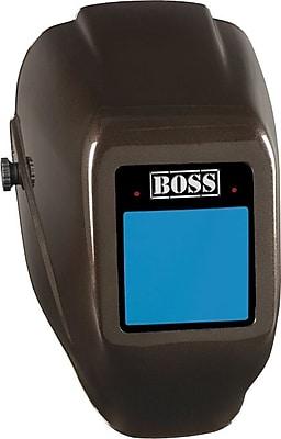 Jackson® HaloX EQC® BOSS™ Series W50 Welding Helmet, 3.76 in (W) x 3.47 in (L) Window, #9 - 12 Shade