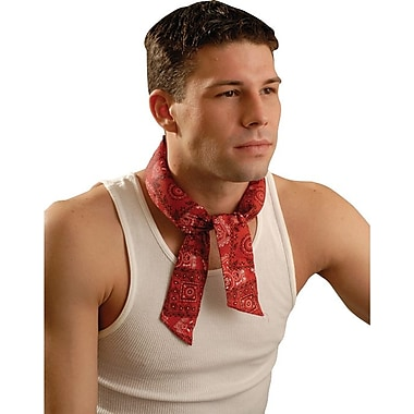 MiraCool® Tie Neck Bandana, Cowboy Red