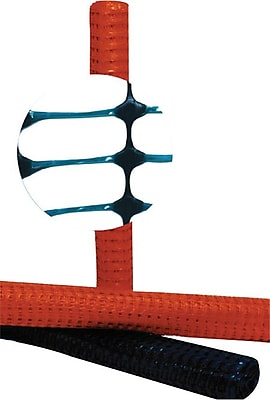 Resinet Light Weight Flat Oriented Barrier Fence, 100 Feet (L) x 4 Feet (H), 2600 PSI