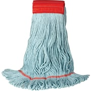 """O'Dell® Recycled PET Large Mop Head, 5"""" Headband, Blue"""