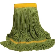 "O'Dell® Recycled PET Mop Head, 5"" Headband, Green (1400L/GR)"