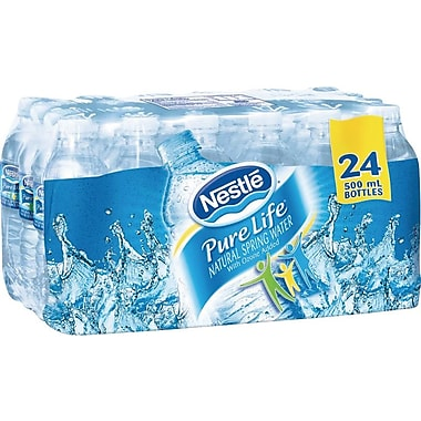 Nestlé® Pure Life Spring Water, 500ml Bottles, 24-Pack