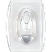 Command™ Clear Mini Hooks, Clear, 6/Pack