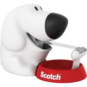 Scotch® Dog Tape Dispenser with Scotch® Magic™ Tape