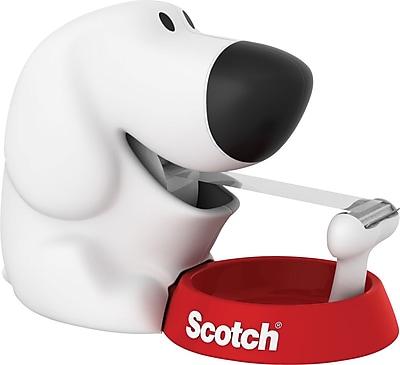 Scotch® Dog Tape Dispenser with Scotch® Magic™ Tape