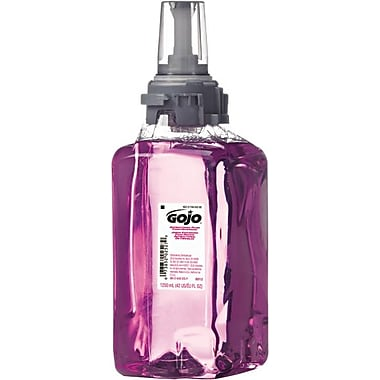 Antibacterial Plum Foam Hand Wash, 1200 mL, Plum Scent, Clear Purple
