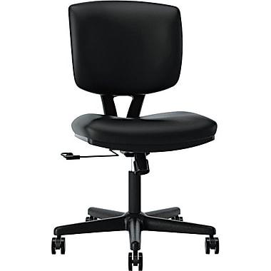 HDOD HON Volt® Task Chair, Leather, Black, Seat: 18 1/2