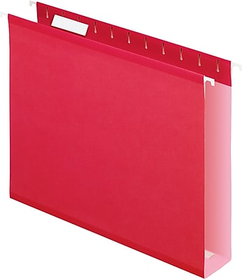Pendaflex® Box-Bottom Colored Hanging File Folders, 2