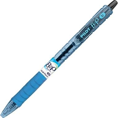 Pilot B2P Bottle-2-Pen Retractable Ball Point Pens, Medium Point, Black, 5/Pack (32812)