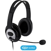 Microsoft LifeChat LX-3000, noise cancelation headset, Black (JUG-00013)