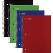 "Staples 5 Subject Notebook, 8-1/2"" x 11"", Each (10467M-CC)"